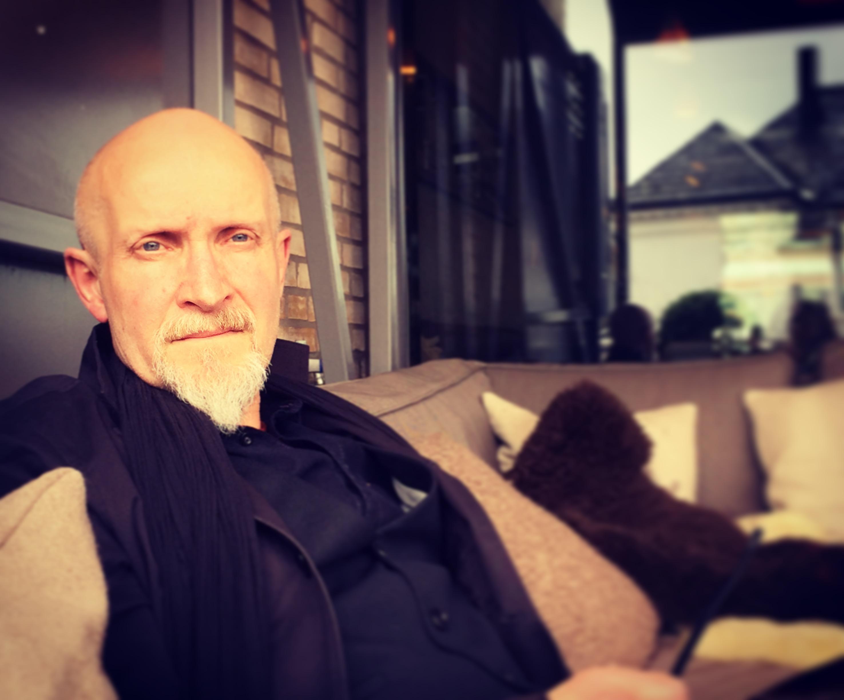 Lars Saabye Christensen på Baker Hansen Vinderen (foto: Mette Karlsvik)