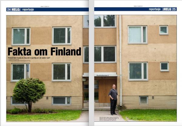 Faksimile frå Dagsavisen 12/8 - 2017. Foto: Wanda N. Nordstrøm